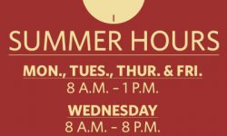 Summer Hours at The Lord's Pantry at Anna's House