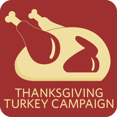 Thanksgiving Turkey Sponsor